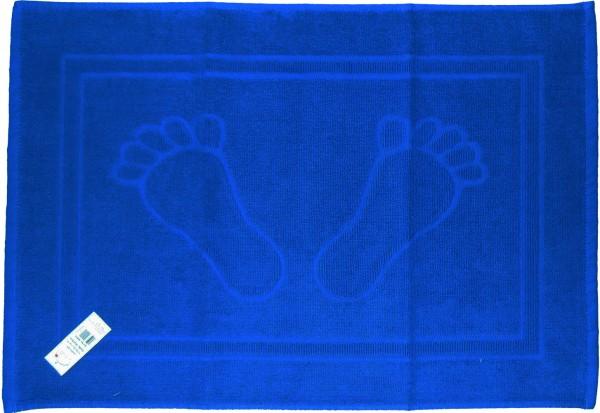 Baumwoll Frottier Duschvorleger, Füße, Badematte, Frottee, 50x70 cm, uni einfarbig, Badvorleger, 10